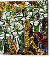 Carnival Rio De Janeiro 14 Acrylic Print