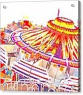 Carnival Sombrero Acrylic Print