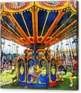 Carnival - Super Swing Ride Acrylic Print