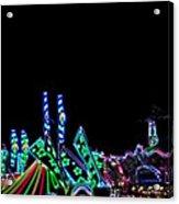 Carnival - Tent Tops Acrylic Print