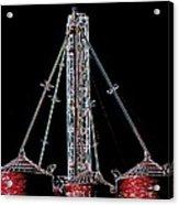 Carnival Towers Acrylic Print