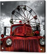 Carnival's Over Acrylic Print