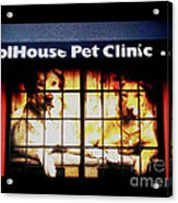 Carol House Quick Fix Pet Clinic Acrylic Print