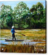 Carolina Cove Acrylic Print