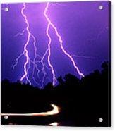 Carolina Electrical Storm Acrylic Print