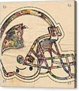 Carolina Panthers Logo Art Acrylic Print