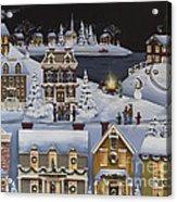 Caroling In Winterberry Acrylic Print