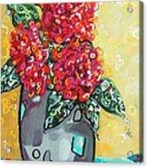 Carolyn's Roses Acrylic Print