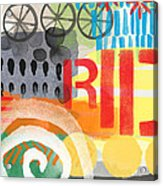 Carousel #6 Ride- Contemporary Abstract Art Acrylic Print