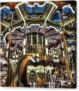 Carousel At Hotel Deville Acrylic Print