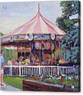 Carousel At Put-in-bay Acrylic Print