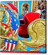 Carousel Chariot Acrylic Print
