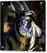 Carousel Goat Acrylic Print