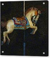 Carousel Horse Painterly Acrylic Print