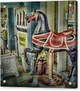Carousel Hourse Acrylic Print