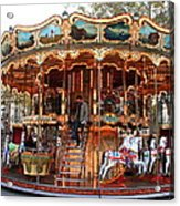 Carousel In Avignon Acrylic Print