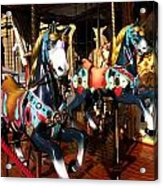 Carousel In Florence Italy Acrylic Print