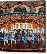 Carousel Ride Acrylic Print