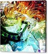 Carousel Sparkle Acrylic Print