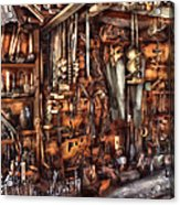 Carpenter - That's A Lot Of Tools  Acrylic Print