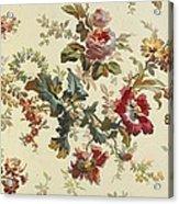 Carpet Design Acrylic Print