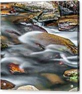 Carreck Creek Cascades Acrylic Print