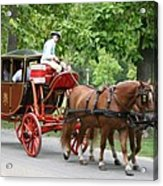 Carriage Acrylic Print