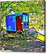 Amish Carriage Acrylic Print