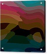 Carribbean Dusk Acrylic Print