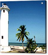 Carribbean Lighthouse Acrylic Print