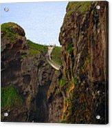 Carrick-a-rede Bridge IIi Acrylic Print