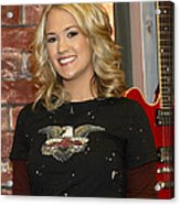 Carrie Underwood Acrylic Print
