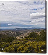 Carrizo Canyon Acrylic Print