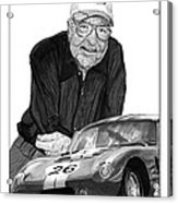 Carroll Shelby    Rest In Peace Acrylic Print