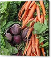 Carrots And Beets Acrylic Print