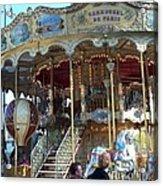 Carrousel De Paris Acrylic Print