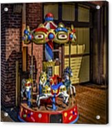 Carrousel Acrylic Print