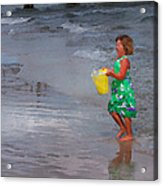 Carrying Water Acrylic Print