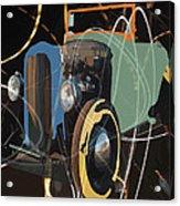 Cars And Stars Acrylic Print