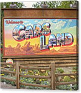 Cars Land Acrylic Print