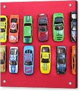 Cars On The Wall Acrylic Print