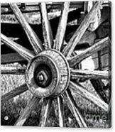 Cart Wheel Acrylic Print