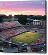 Carter-finley Stadium Acrylic Print by Elevated Perspectives LLC