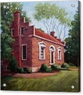 Carter House In Franklin Tennessee Acrylic Print by Janet King