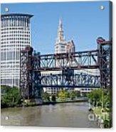 Carter Road Lift Bridge Acrylic Print