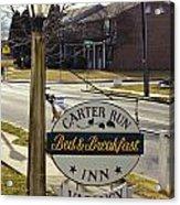 Carter Run Inn 1 Acrylic Print