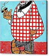 Cartoon 05 Acrylic Print by Svetlana Sewell