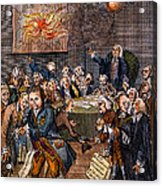 Cartoon: Politicians Acrylic Print
