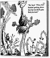 Cartoon: World War II Acrylic Print