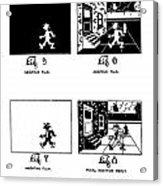 Cartoons Acrylic Print